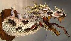 Best blog in the world so far for paper mache dragons