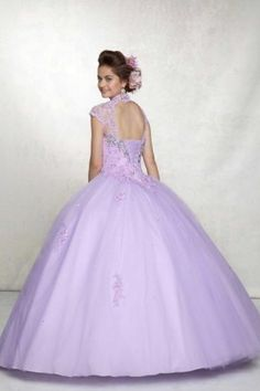 Best Selling \ Dresses 2013 Ball Gown Floor Length Tulle With Beadings & Applique