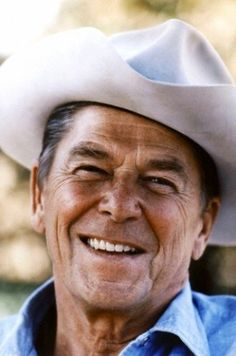 Ronald Reagan - 40th president (1981-1989) (© Michael Evans/Zuma/Corbis) Pneumonia, Alzheimer's Disease