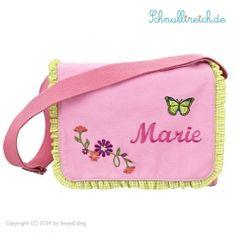 Rucksack-Tasche mit Namen Rosa