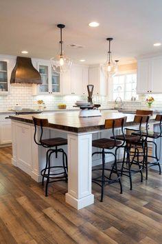 30+ Brilliant kitchen island ideas that make a statement