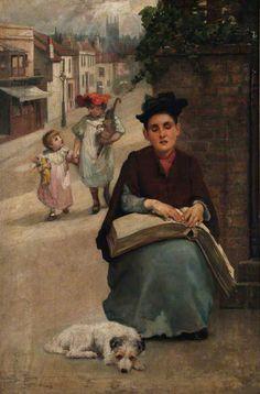 Beatrice Offor - Chica ciega, 1906-17