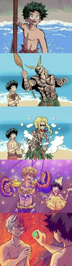 Now this is my Disney! Deku:I am DEKUUUUUUUU! Kacchan:SHINEEEHHGG Shouto:I am Te fiti,all creatures big and small are part of the circle of life. My Hero Academia Shouto, My Hero Academia Episodes, Hero Academia Characters, Anime Crossover, Funny Art, Funny Memes, Meme Meme, Funny Life, Deku Anime