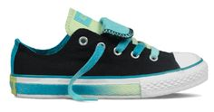 Converse® Youth All Stars® Double Tongue Ox Black