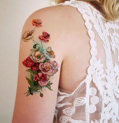 tattoos vintage flores - Buscar con Google