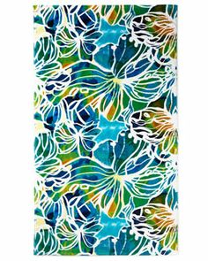 Don't think I would have any trouble finding my beach towel if I had this.    H781Y Natori Hunan Beach Towel