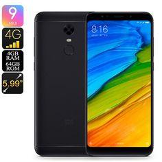 Buy Wallmart.win 7.1 4gb Ram Snapdragon 625 Cpu Xiaomi Redmi 5 Plus Smartphone Android 64gb Memory 4g Fingerprint Sca: Vendor: CNV Type:…