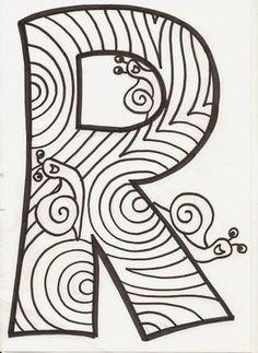 "LLETRES ""LA TARDOR"" Scrapbook Expo, Scrapbook Supplies, Scrapbook Pages, Alphabet Coloring Pages, Coloring Book Pages, Photo Album Covers, Custom Photo Albums, Handmade Scrapbook, Zentangle Drawings"