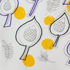#pattern #repetition #motif #play #purple #yellow #ballpen #dots #scales #drawing #linedrawing #free #fibertippens #art #relaxing Scales Drawing, Ballpen, Purple Yellow, Line Drawing, Doodles, My Arts, Dots, Play, Drawings
