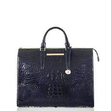 A statement Carryall perfect for the office and travel. The Business tote in Ink Melbourne.