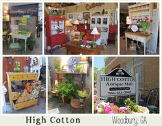 Great booth displays!   - Vintage Show Off:  Favorite Local Stores