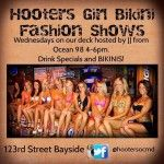 Hooters Girls Bikini Fashion Show at 123rd St Bayside Ocean City MD 21842 and more Events for Wednesday in Ocean City Maryland #OCEvents #ocmd