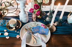 Love and Reverie, a pre-wedding editorial shoot photographed by The Daydreamer Studios. Table Setting Photos, Table Settings, Rustic Wedding, Wedding Reception, Rustic Gardens, Garden Table, Tablescapes, Wedding Blog, Studios
