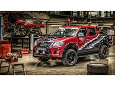 Toyota celebrates the one millionth Hilux sold with the fire-breathing V8 Hilux REX