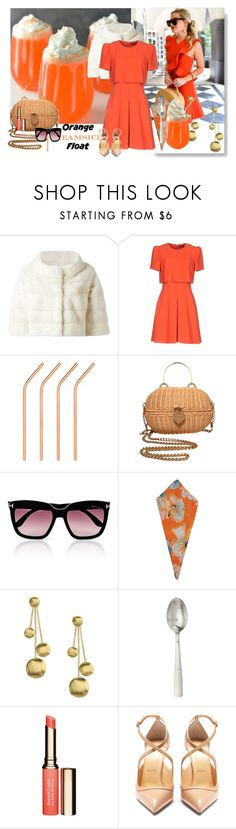 """""""Inspired by a DRINK!"""" by beleev ❤ liked on Polyvore featuring Liska, Alexander McQueen, Chanel, Tom Ford, Marinette Saint-Tropez, Marco Bicego, Juliska, Clarins and Christian Louboutin"""
