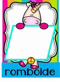 Compañeros y amigos docentes en esta ocasión agradecemos a RM Mat por diseñar y compartir con todos nosotros este estupendo Childhood Education, Baby Room, Board Games, Preschool, Classroom, Teacher, Diy Crafts, Shapes, Math