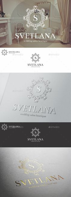 Wedding Salon Boutique Elegant Logo Template #design #logo Download: http://graphicriver.net/item/wedding-salon-boutique-elegant-logo/11509458?ref=ksioks