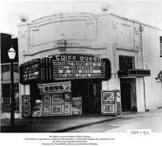 Cliff Queen Theater. Oak Cliff This was the first movie theater in Oak Cliff's original downtown, near East Jefferson and Tenth. It was renovated around 1922, but by the mid-1940s, it was not up to fire code. Demolished 1958