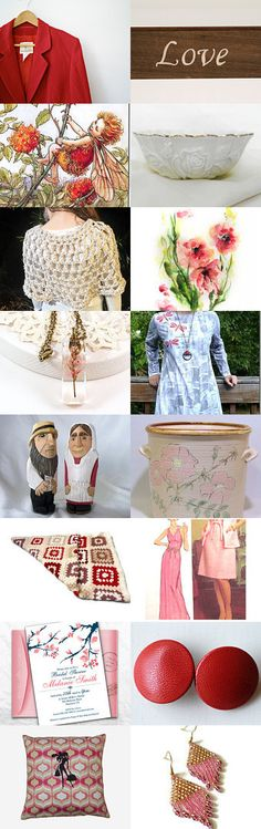 A Little Weekend Joy! by jcstrong on Etsy--Pinned with TreasuryPin.com  #art #vintage #jewelry #homedecor #Etsyfinds #shopping
