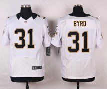 New Orleans Saints #31 Jairus Byrd Elite White Road NFL Jersey