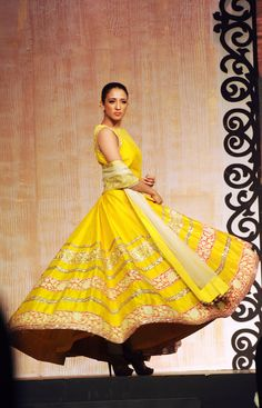 Yellow Anarkali #salwaar kameez #chudidar #chudidar kameez #anarkali #anarkali suits #dress #indian #outfit #shaadi #bridal #fashion #style #desi #designer #wedding #gorgeous #beautiful