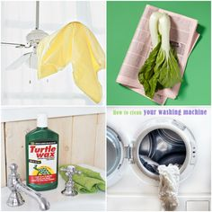 Spring cleaning may not be music to your ears, but there are plenty of ways to make it quick and painless. Get motivated to get clean with these Spring Cleaning: 25 Tips and Tricks. Household Cleaning Tips, Homemade Cleaning Products, Cleaning Recipes, House Cleaning Tips, Spring Cleaning, Cleaning Hacks, Cleaning Supplies, Household Cleaners, Clean Your Washing Machine