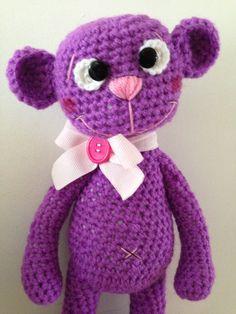 Crochet Teddy, Crochet Toys, Hello Kitty, Dinosaur Stuffed Animal, Hats, Inspiration, Animals, Fictional Characters, Facebook