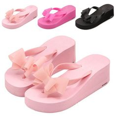 New Arrival Women's Fashion Hawaii Beach Sandals Summer Bowknot Shoes Flat Wedge Flip Flops , https://myalphastore.com/products/new-arrival-womens-fashion-hawaii-beach-sandals-summer-bowknot-shoes-flat-wedge-flip-flops/,
