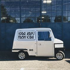 Well isn't this just the best thing! @sodajerksoda is parked outside and ready to keep us all cool as cucumbers today! We open at 11! To get to #RenegadeSeattle from the Magnuson Park entrance head straight and look to the left for Hangar 30 - it's a big beautiful blue building! Hurry on over it's free and opens soon! #RenegadeCraftFair #Seattle by renegadecraft