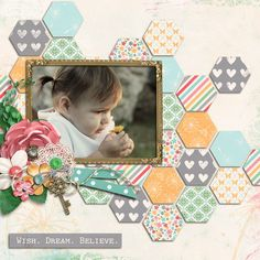 This layout was created for the Sweet Shoppe Summer Shadowbox contest - come join the digital scrapbooking fun at SweetShoppeDesign...!