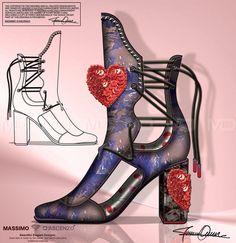 'MD' Massimo D'ascenzo Beautiful Designs. MUMIT FOOTWEAR BY Massimo D'ascenzo.   'MUMIT' Love is in the Air!  Instagram@massimodascenzo  www.massimod.com  #luxury#jewellery#handbags#love#fashionAddict.  https://www.facebook.com/pages/ Massimo-Dascenzo-Luxury-Jewellery-Handbags/485052561622939?ref=hlj