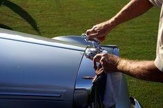 Polishing up the Jag