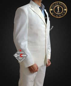 Gatsby Suit has peak lapel with one back vent from high quality linen taken from movie The Great Gatsby, Get narrow style Leonardo DiCaprio Off White Suit Suits You, Cool Suits, Gatsby Costume, Great Gatsby Theme, White Suits, One Back, Leonardo Dicaprio, Hollywood Celebrities, Off White