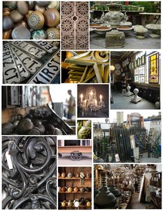 Fragments Of History:  Architectural Salvage