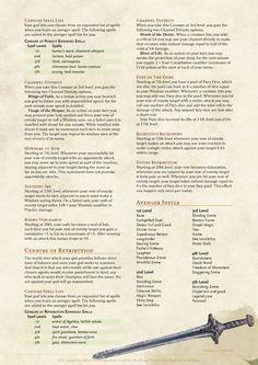 DnD Homebrew — Avenger Class by Fenrir-Hati-Skoll Fantasy Story, Fantasy Series, Fantasy Rpg, Dark Fantasy, Shadar Kai, Dungeons And Dragons Classes, Dnd Races, Dnd Classes, 70s Sci Fi Art