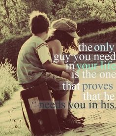 I like this, please girls learn this. Find a Godly man, who is your friend.