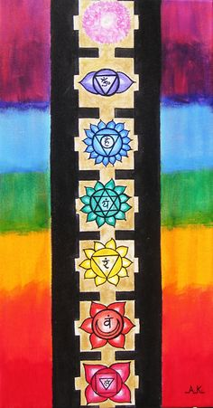I find it helpful in balancing my chakras to meditate on the chakra symbols