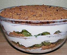 Rezept Dessert mit Weintrauben von xato - Rezept der Kategorie Desserts
