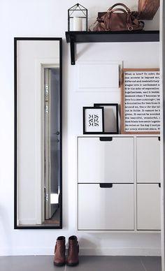 HappyModern.RU | 65 идей прихожих для узкого коридора: как обмануть пространство (фото) | http://happymodern.ru