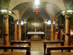 Crypt of the church of San Pietro Martire in Vigevano (Pavia)