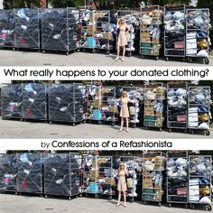 You've finally managed a wardrobe audit and dropped your unwanted gear at your local thrift shop but have you ever wondered what really happens to your donated clothing? Second Hand Shop Online, Thrift Store Donations, Ethical Shopping, What Really Happened, Green Ideas, Fast Fashion, Repurposing, Second Hand Clothes, Thrifting
