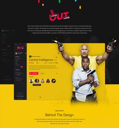 Kevin Hart's Laugh Out Loud Network - UI/UX Concept on Behance