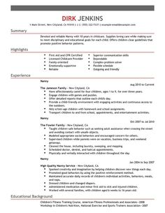 Sample Nanny Resume System Administrator Cover Letter Sample  Administrator Job