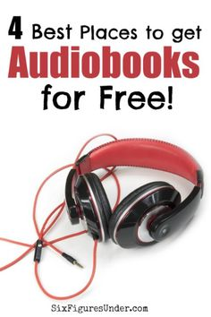 """There's no excuse to not have time for good books.  Audiobooks let you """"read"""" while you're driving, cleaning, or working out.  The best part is that you can expand your mind without even opening your wallet since there are some great options for getting audiobooks for free!"""