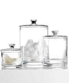 Hotel Collection Medium Glass Jar