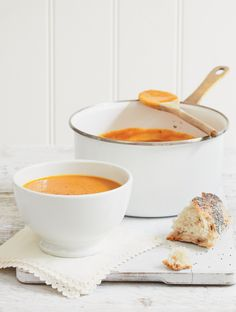 Roasted Butternut Squash Soup - The Happy Foodie