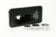 Fisheye, Macro, Wide Angle and Telephoto Phone Lenses - Pro-style lenses with high quality glass for phone pics with a serious punch.