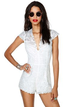 Dolce Vita Straight Laced Romper | Shop Rompers + Jumpsuits at Nasty Gal