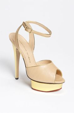 Charlotte Olympia Platform Sandal available at #Nordstrom