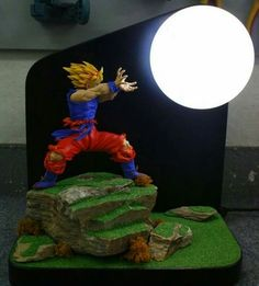 Goku abajur, mas é a Genki Dama no meu coração uU*